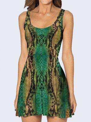 Платье анималистической расцветки | 3736916