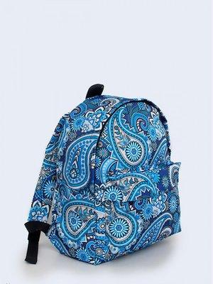 Рюкзак синій з візерунком   3738131