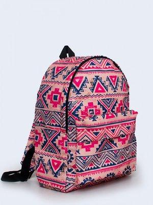 Рюкзак рожевий з орнаментом   3738139