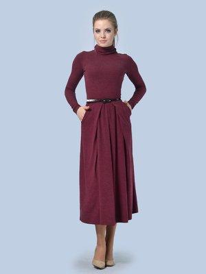 Сукня бордова | 3724306