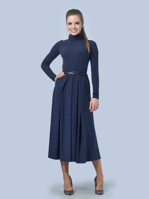 Платье темно-синее | 3724307