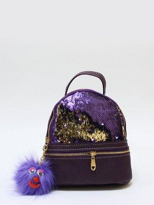 Рюкзак-мини фиолетовый | 3704503