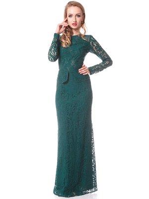 Платье зеленое | 1627465