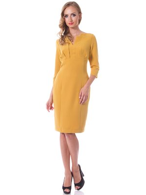 Сукня гірчичного кольору - Evercode - 1798168