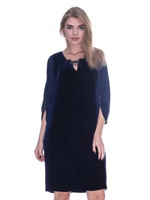 Сукня темно-синя | 3733705