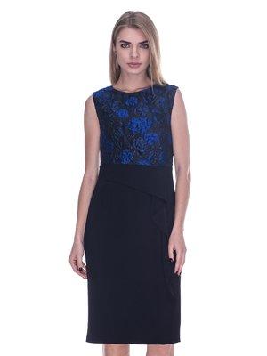 Сукня чорно-синя | 3733736
