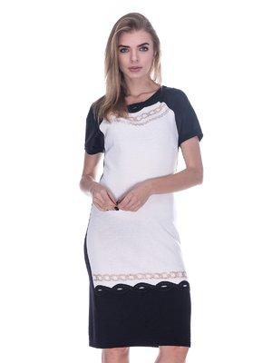 Сукня чорно-біла | 3733728