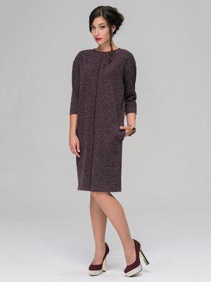 Сукня баклажанового кольору | 3551485