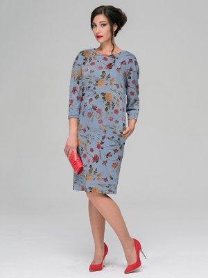 Платье в цветочный принт | 3581112