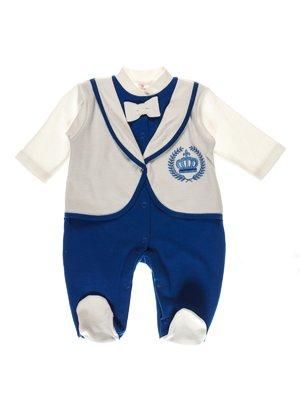 Чоловічок синьо-молочного кольору | 3742098