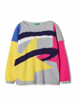 Джемпер різнобарвний | 3671296