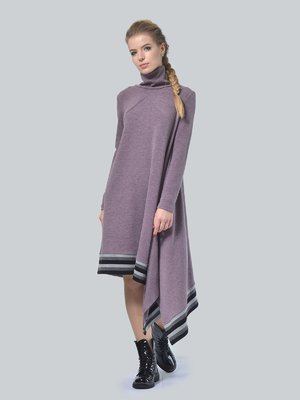 Платье серо-сиреневое | 3744391