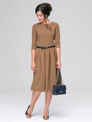 Платье песочного цвета | 3649374