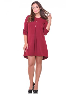 Сукня бордова | 3747036