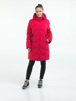 Пальто красное   3754646