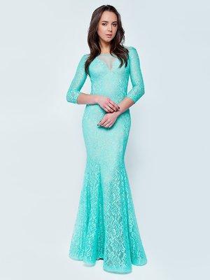 Платье мятного цвета | 3074901