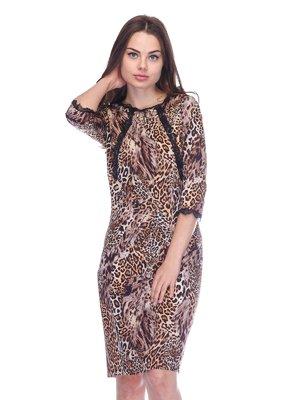 Сукня в леопардовий принт | 3752077