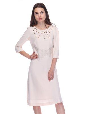 Сукня світло-бежева | 3752071