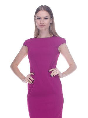 Платье цвета фуксии | 3752084
