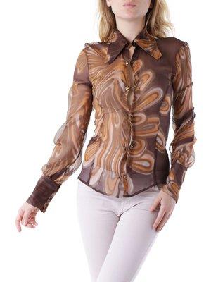 Блуза коричнева | 3756171