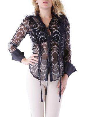 Блуза черная | 3756297