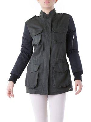 Куртка кольору хакі | 3756623