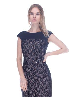 Сукня чорно-бежева | 3752073