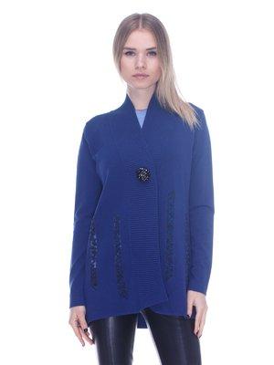Кардиган синий | 3752029