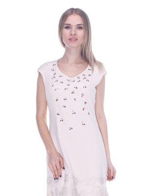 Сукня світло-бежева | 3752072
