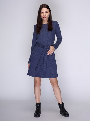 Платье синее | 3741886