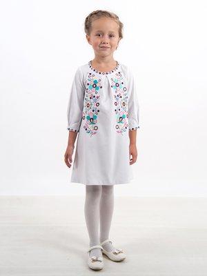 Платье белое с вышивкой | 3759087