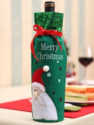 Новогоднее украшение для бутылок «Дед Мороз» | 3765739