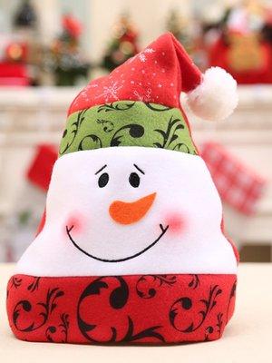 Новорічна шапочка «Сніговик» | 3765767