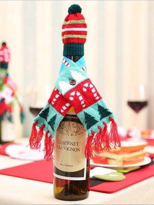 Новогоднее украшение для бутылок | 3765777