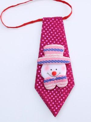 Новорічна краватка «Сніговик» | 3765821