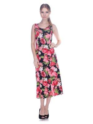 Платье в цветочный принт | 3387727