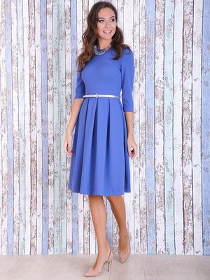 Платье голубое | 3766114
