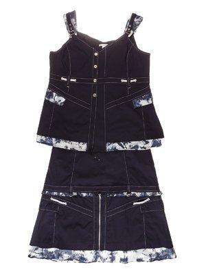 Комплект: блуза и юбка | 3399958