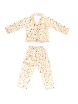 Піжама фланелева з начосом: кофта та штани | 3767496