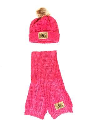Комплект: шапка та шарф | 3765553