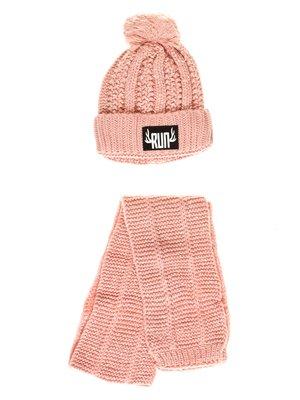 Комплект: шапка та шарф   3765519