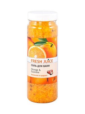 Сіль для ванн Orange & Guarana (700 г) | 1564721
