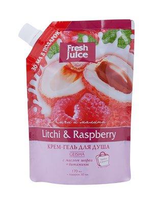 Крем-гель для душу Litchi & Raspberry (200 мл) | 1859039