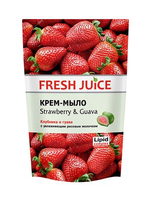 Крем-мило Strawberry&Guava (460 мл) | 1859059