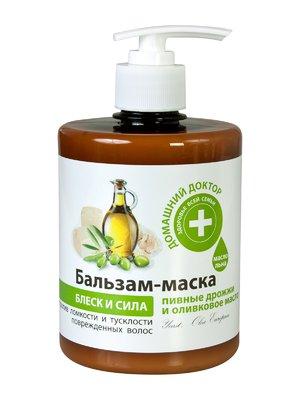 Бальзам-маска «Пивні дріжджі і оливкова олія» (500 мл)   1955141