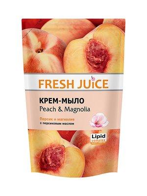 Крем-мило Peach&Magnolia (460 мл) — дой-пак | 1963655