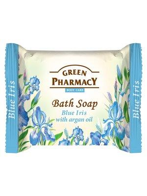 Туалетне мило «Блакитний ірис з олією аргана» (100 г) | 2491886
