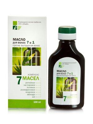 Олія для волосся «7 олій» 7 в 1 (100 мл) | 2549016
