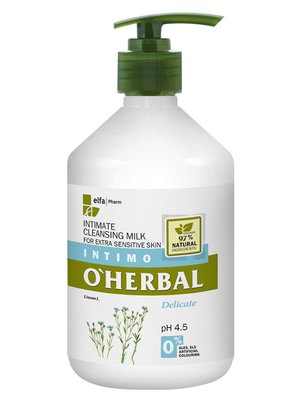 Молочко интимное очищающее для экстра-чувствительной кожи (500 мл) | 3154495
