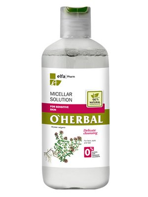 Мицеллярный раствор для чувствительной кожи (250 мл)   3481934